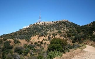 Hollyridge Trail to the Hollywood Sign in Griffith Park