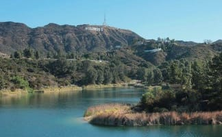 Hollywood Sign - Hollywood Reservoir Loop
