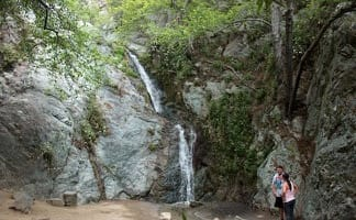 Monrovia Falls Hike - Los Angeles Waterfall