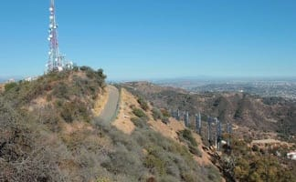 Burbank Peak Trail and Aileen Getty Ridge Trail to the Hollywood Sign in Griffith Park