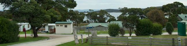 Big 4 Iluka on Freycinet Holiday Park Australia Coles Bay Caravan Park Freycinet Peninsula Camping