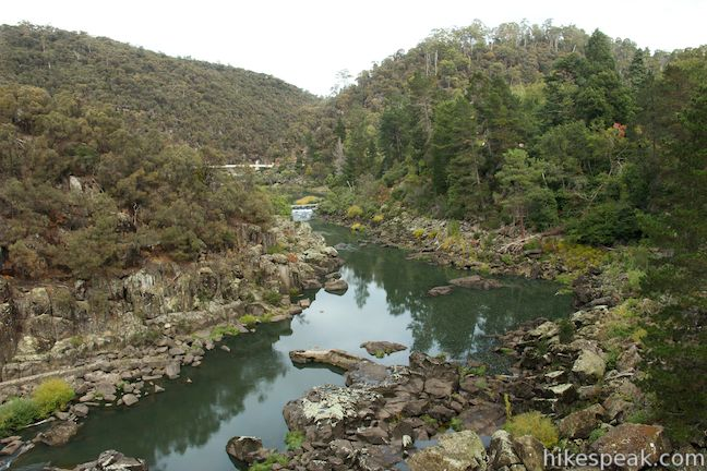 Cataract Gorge First Basin
