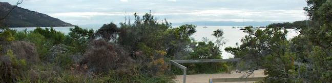 Richardsons Beach Campground Freycinet National Park Coles Bay camping Freycinet Peninsula Tasmania Australia