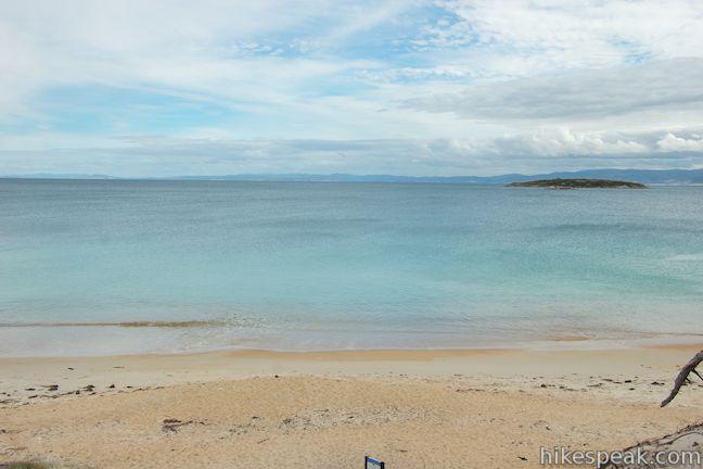 Wineglass bay hazards beach walk