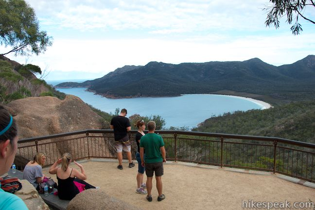 This 12-kilometer loop in Freycinet National Park visits some of Tasmania's most beautiful beaches.