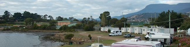 Hobart Treasure Island Cabin and Caravan Park Holiday Park Tasmania Australia