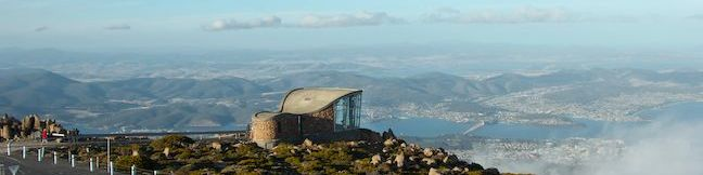 Pinnacles Boardwalk and Summit Trig Mount Wellington Walking Track Wellington Park Hike Hobart Tasmania Australia