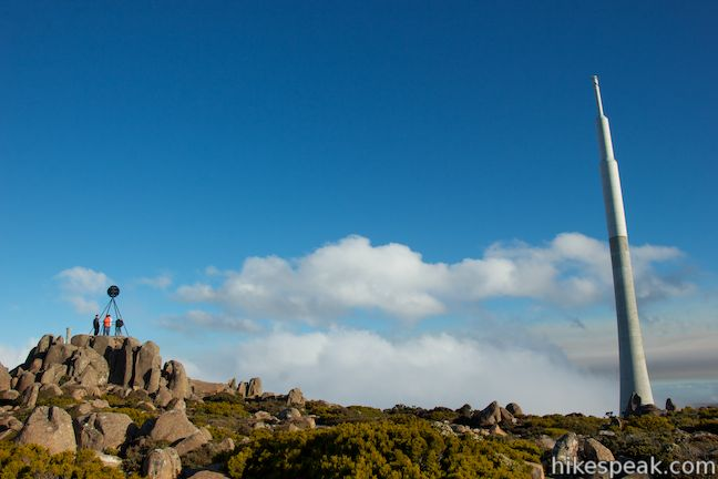 Mount Wellington Summit Trig