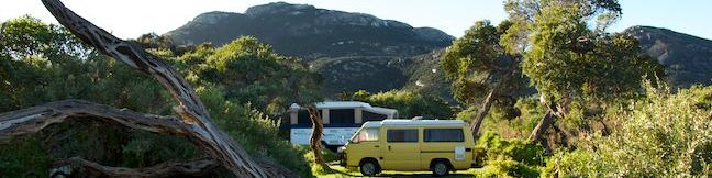 Tidal River Campground Wilsons Promontory National Park Campsites Victoria Australia Wilsons Prom Camping