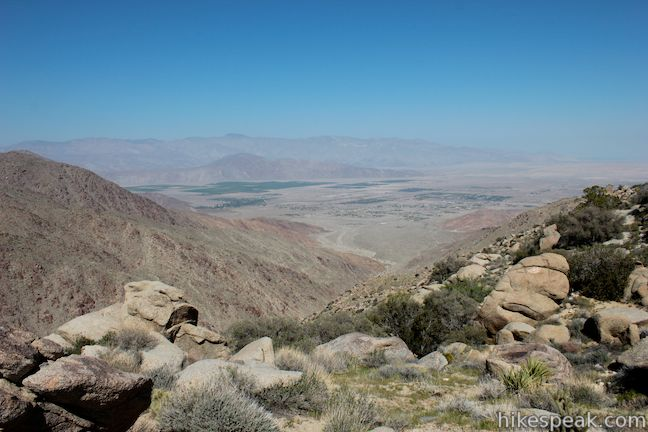 Anza-Borrego Desert Culp Valley Overlook