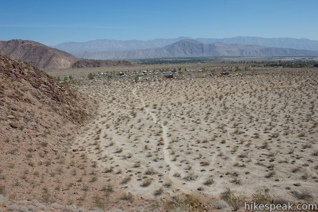 Anza-Borrego Desert Panoramic Overlook Trail