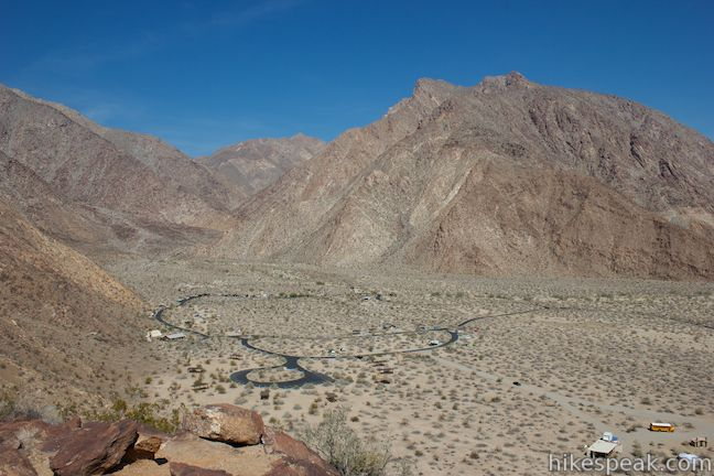 Borrego Palm Canyon Panoramic Overlook Trail
