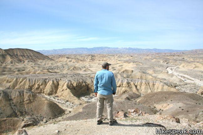 Wind Caves Trail Anza-Borrego Desert State Park