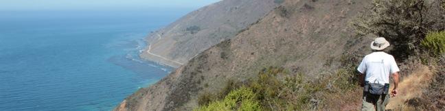 Cruickshank Trail Silver Peak Wilderness Los Padres National Forest Big Sur Hike