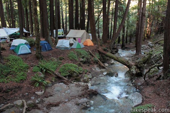 Limekiln State Park Campground| Big Sur | Hikespeak com