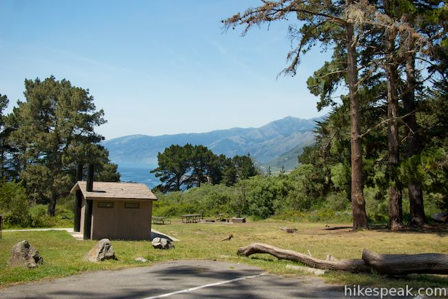 Trails and Campgrounds on Hikespeak comPlaskett Creek Campground Site 25