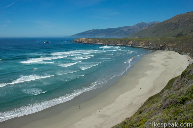 Sand Dollar Beach Overlook Big Sur