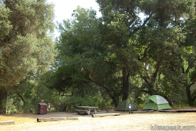 Pinnacles Campground Pinnacles National Park Hikespeak Com