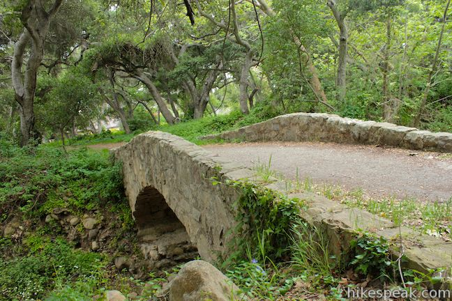 This 1.85-mile lollipop loop in Montecito crosses charming stone bridges over San Ysidro Creek to explore a lush oak forest that is flooded by nasturtiums in the spring.