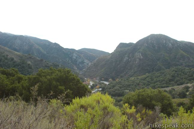 Gaviota Pass above Las Cruces Trail