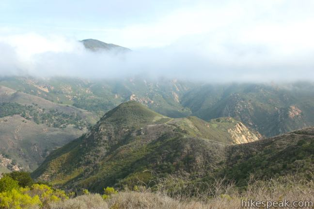 This 6.5-mile loop tours scenic ridges in Gaviota State Park to arrive at a soaring overlook above the Gaviota Tunnel.