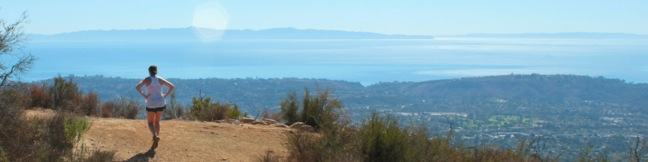 Jesusita Trail to Inspiration Point hike Santa Barbara California