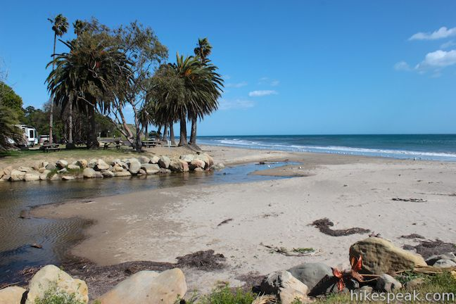 Refugio State Beach Campground