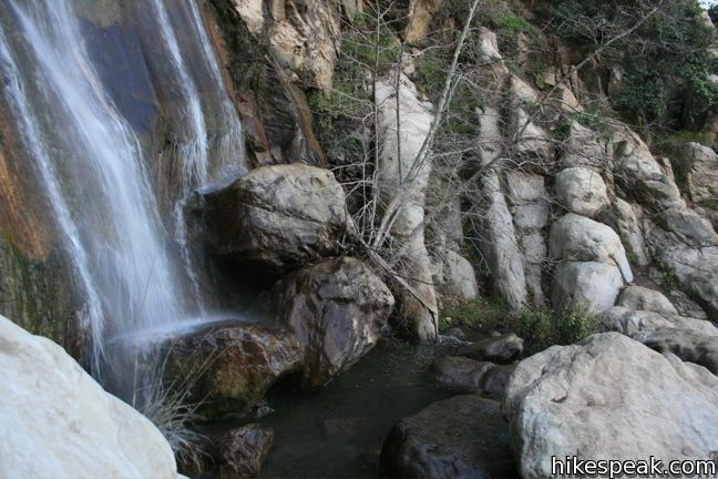 Tangerine Falls in Los Padres National Forest