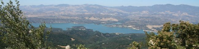Santa Barbara Outdoors Tequepis Trail Santa Ynez Mountains hike Lake Cachuma Circle V Camp