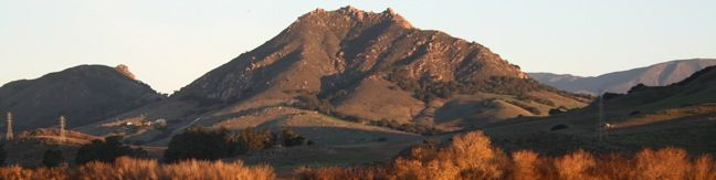 Bishops Peak Bishop Peak summit hike San Luis Obispo County Nine Sisters volcanic Morros
