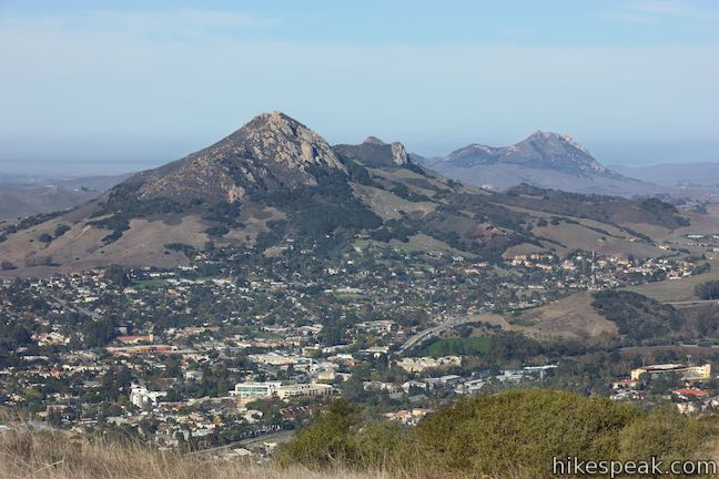Bishop Peak and Hollister Peak