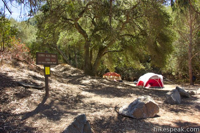 Cerro Alto Campground in San Luis Obispo