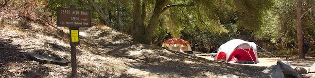 Cerro Alto Campground Los Padres National Forest San Luis Obispo Morro Bay camping camp