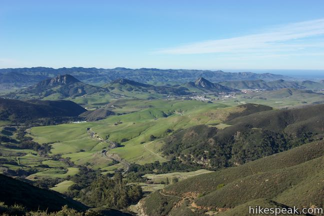 West Cuesta Ridge Road View