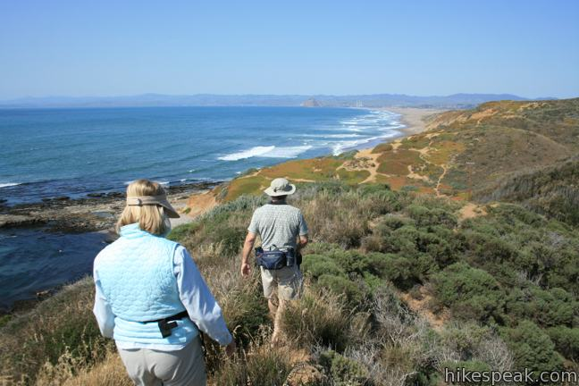 This 1-mile hike in Montaña de Oro State Park descends an oceanfront ravine to a rocky shoreline graced with engaging tide pools.