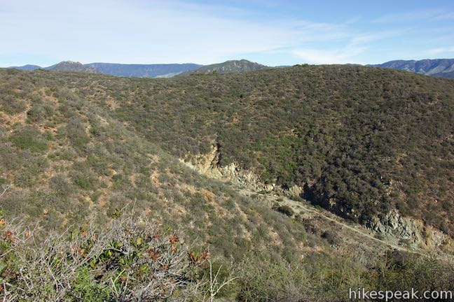 Irish Hills Froom Canyon Old Prospector Trail