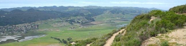 Cerro San Luis Mountain trail SLO hike