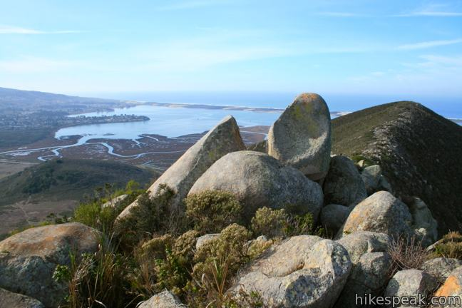 Cerro Cabrillo and Tiki Rock in Morro Bay State Park