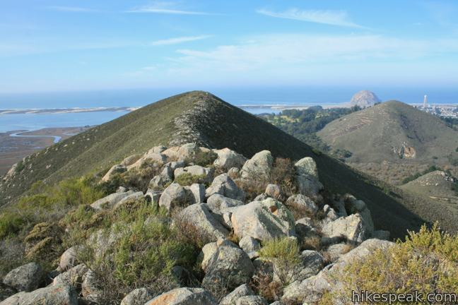 This tough 2.5-mile hike summits the highest mountain in Morro Bay State Park, a 911-foot member of the Nin