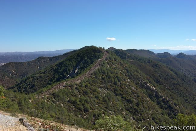 Mount Lowe Santa Lucia Mountains