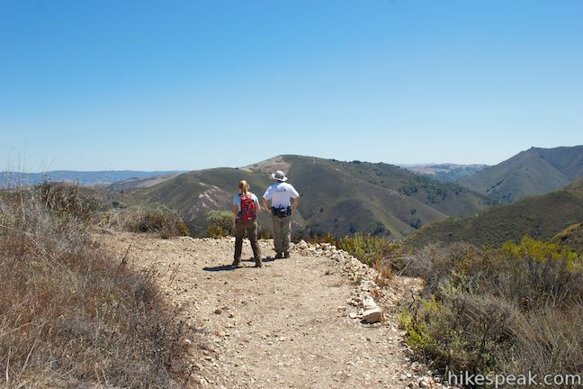 New Oats Peak Trail Overlook