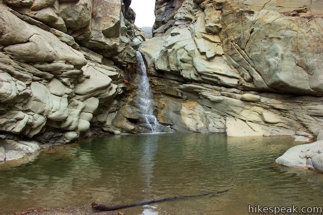 Santa Paula Canyon Waterfall