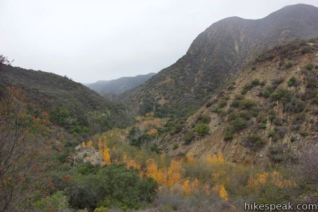 Santa Paula Canyon Trail View