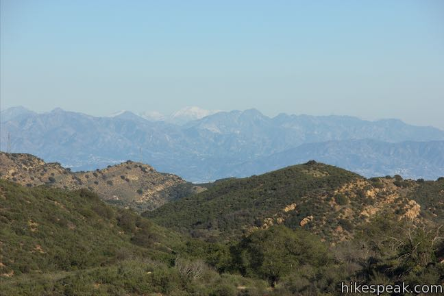 Mount Baldy from Simi Hills