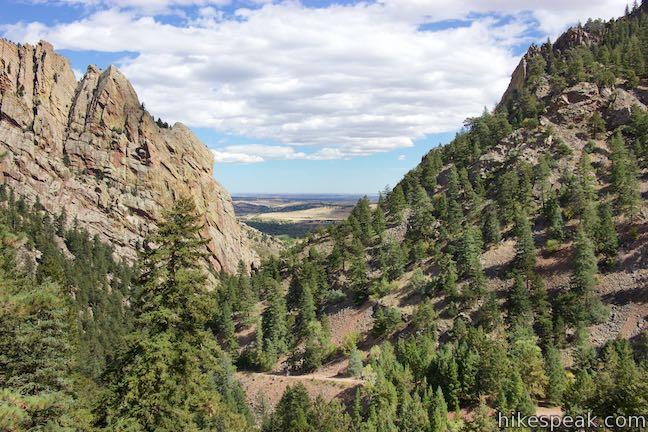 Rattlesnake Gulch Trail Eldorado Canyon