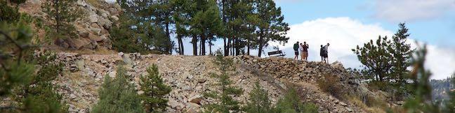 Rattlesnake Gulch Trail hike Eldorado Canyon State Park Boulder Colorado
