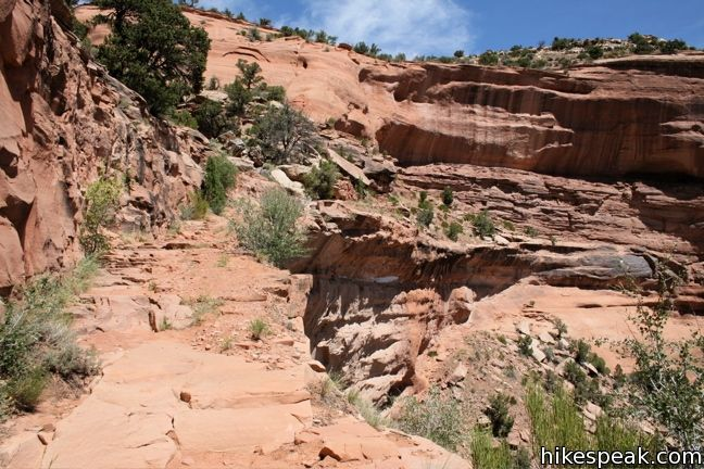 Colorado Monument Canyon Trail