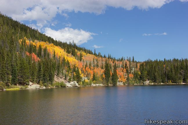 Bear Lake Colorado Fall Colors