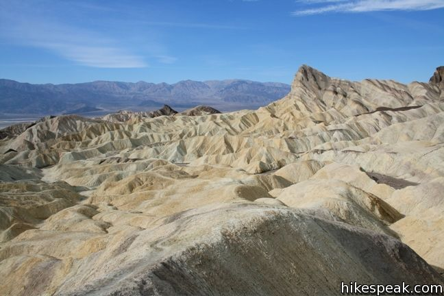Badlands Loop Death Valley Hikespeak Com