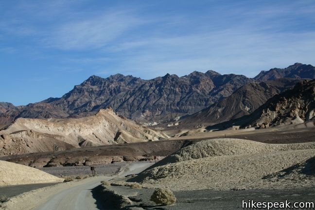 Death Valley Canyon Drive